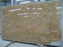 India polished granite slab