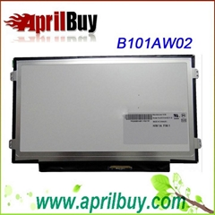 Laptop LCD Panel Screen 10.1 Inch AUO B101AW02 V.0