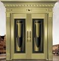 bronze door 1