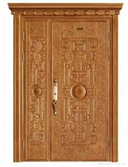 Steel-wooden Primary-secondary Compound Door