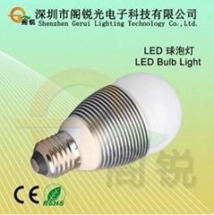 室內裝潢專用LED球泡燈