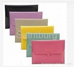 韩版ipad2彩色皮质保护套