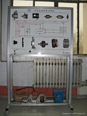 充電起動系統示教板