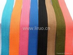 Colorful Cotton tape for belt