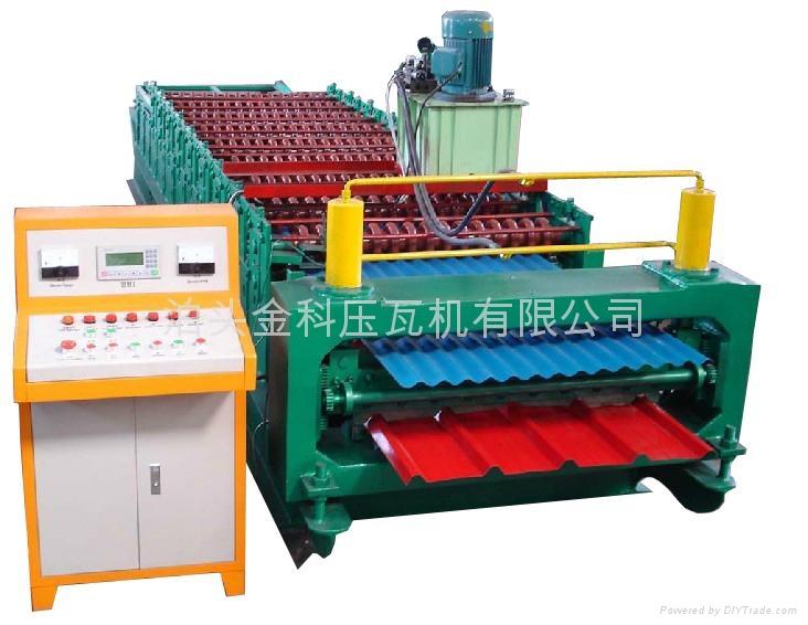 840/910型雙層彩鋼壓型設備 1