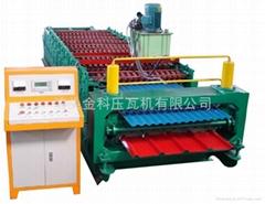 840/910型双层彩钢压型设备