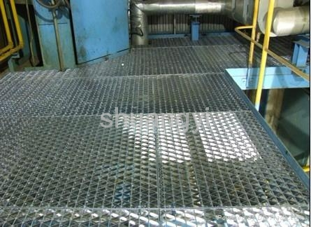Industrial Platform Steel Grid Q235 Or 304 Anping