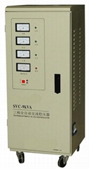 SVC Three Phase High Accuracy Full Automatic AC Voltage Stabilizer
