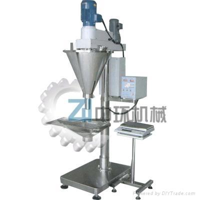 供应自动螺杆计量包装机(罐装) 4