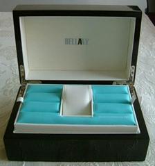 供應木製噴漆手錶包裝盒
