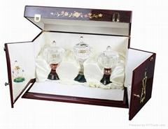 廠家直銷高檔木製香水盒