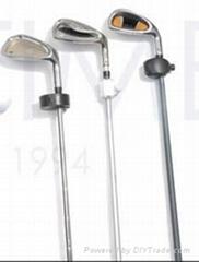 高尔夫棒球杆防盗套环锁