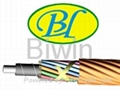 Layer stranding optical fiber cable by