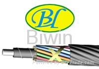 Micro blown cable