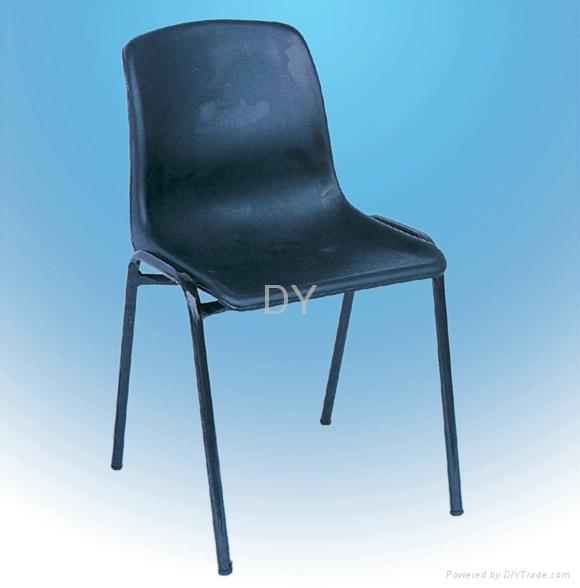 防靜電四腳註塑靠背椅 2