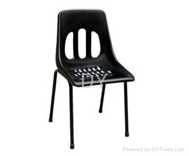 防靜電四腳註塑靠背椅 3