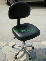 防靜電PU皮革靠背椅