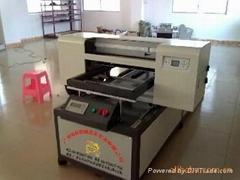 广州龙标专业高质量T-恤万能平板打印机