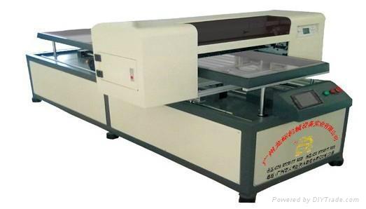 广州龙标专业高质量T-恤万能平板打印机 2