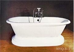 古典鑄鐵搪瓷浴缸HYQ-I-3