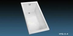 cast iron enamel bathtub