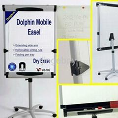 海豚移动高档挂纸书写白板