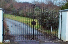 ornemental wrought iron gate