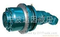液压钻机动力头用液压减速机