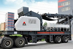 Three wheeler mobile crusher plant for sale