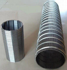 spiral screen tube,wire water well screen,