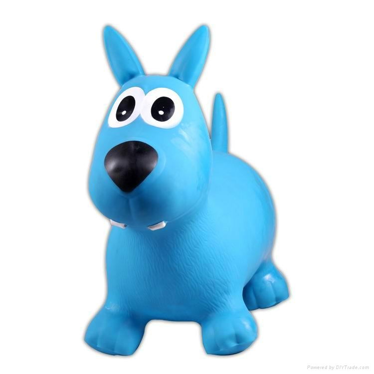 inflatable bouncy animal,jumping toy,ride on toyJSYT069 1