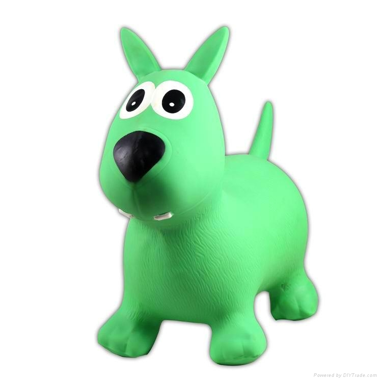 inflatable bouncy animal,jumping toy,ride on toyJSYT069 2