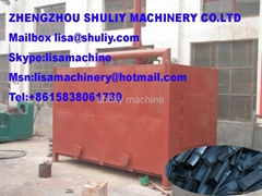 wood charcoal carbonization furnace +8615838061730