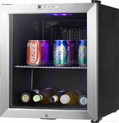 49L refrigerator--glass door