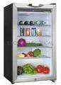 80L refrigerator--glass door