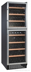 430L Up and Down Open Door Wine Cooler