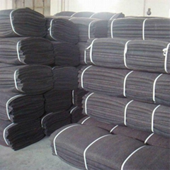 absorben fleece/fiber mat with a film coated