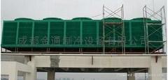 四川成都金通方形玻璃钢冷却塔