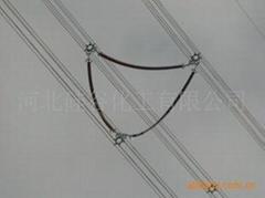 架空线路用柔性相间间隔棒