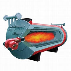 YYL series horizotal oil&gas fired thermic fluid heaters
