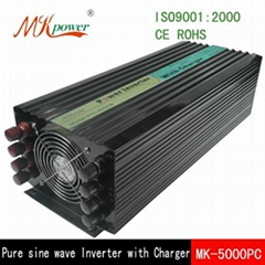 500W-6000W pure sine wave inverter with charger