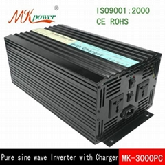 3000W pure sine wave inverter with charger
