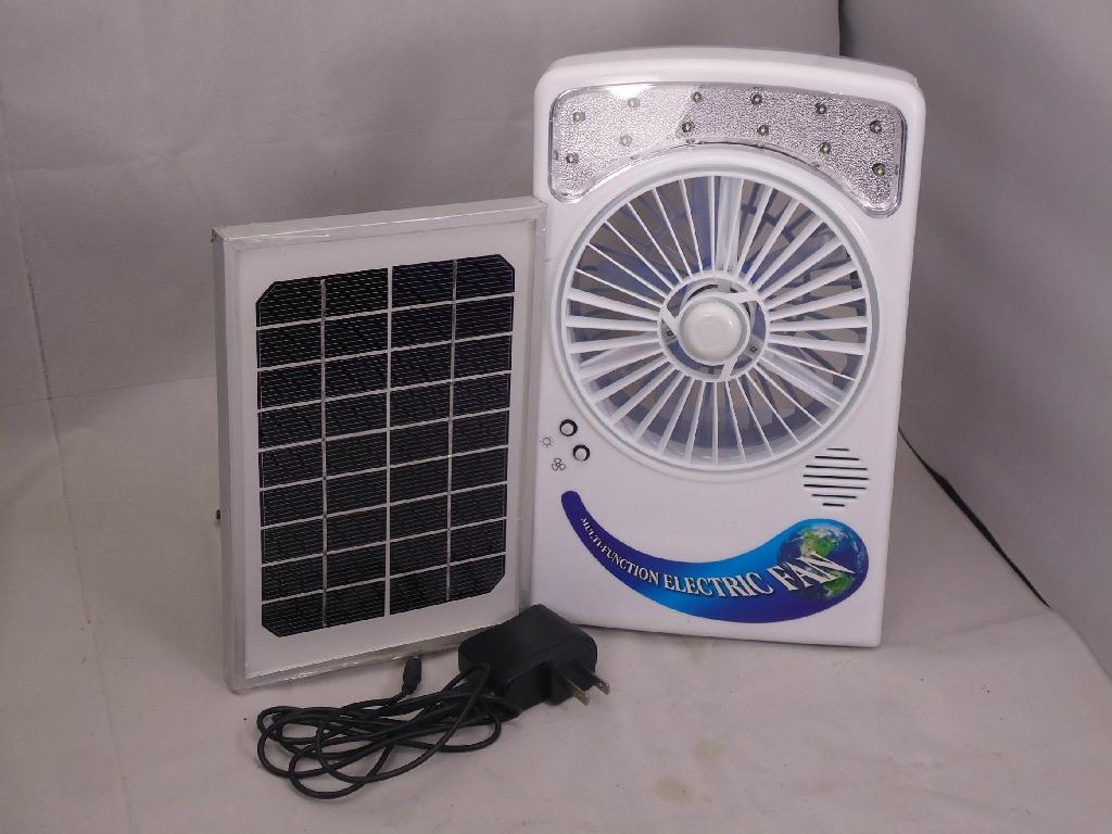 Rechargeable Solar Fan Ht 610 Ht China Manufacturer
