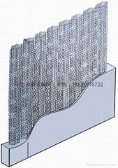 河北萬鴻絲網建材廠生產及供應牆體網-水泥內隔牆-中空內模金屬