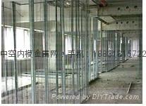 河北万鸿丝网建材厂生产及供应中空钢网内模轻质水泥隔墙 1
