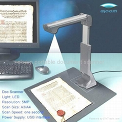 A3 Large Format Document Camera Visualizer, Document Scanner, Portable Scanner