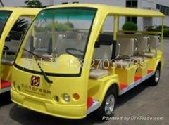 12座电动观光游览车