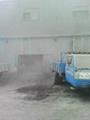 工礦除塵水霧噴淋降塵系統