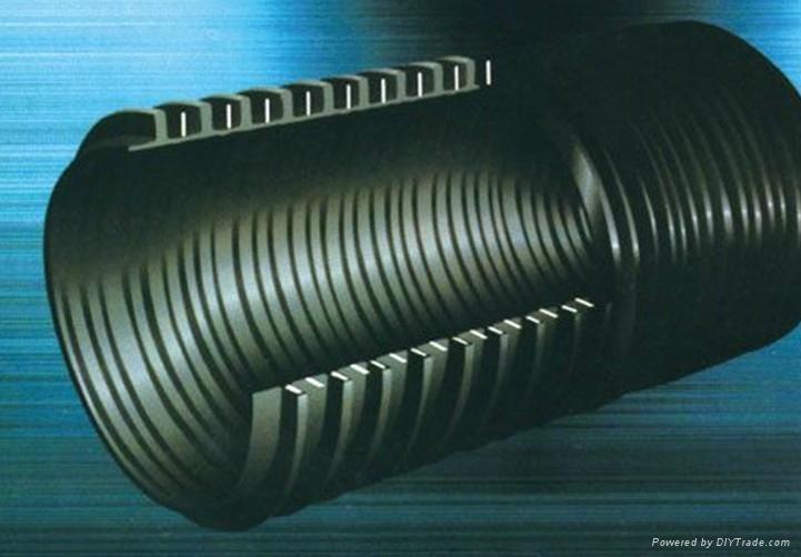 聚乙烯塑鋼纏繞排水管 1