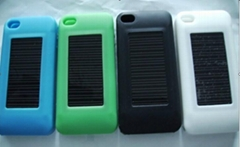 Apple 4G special solar charger silicone sleeve ( 1100MA )